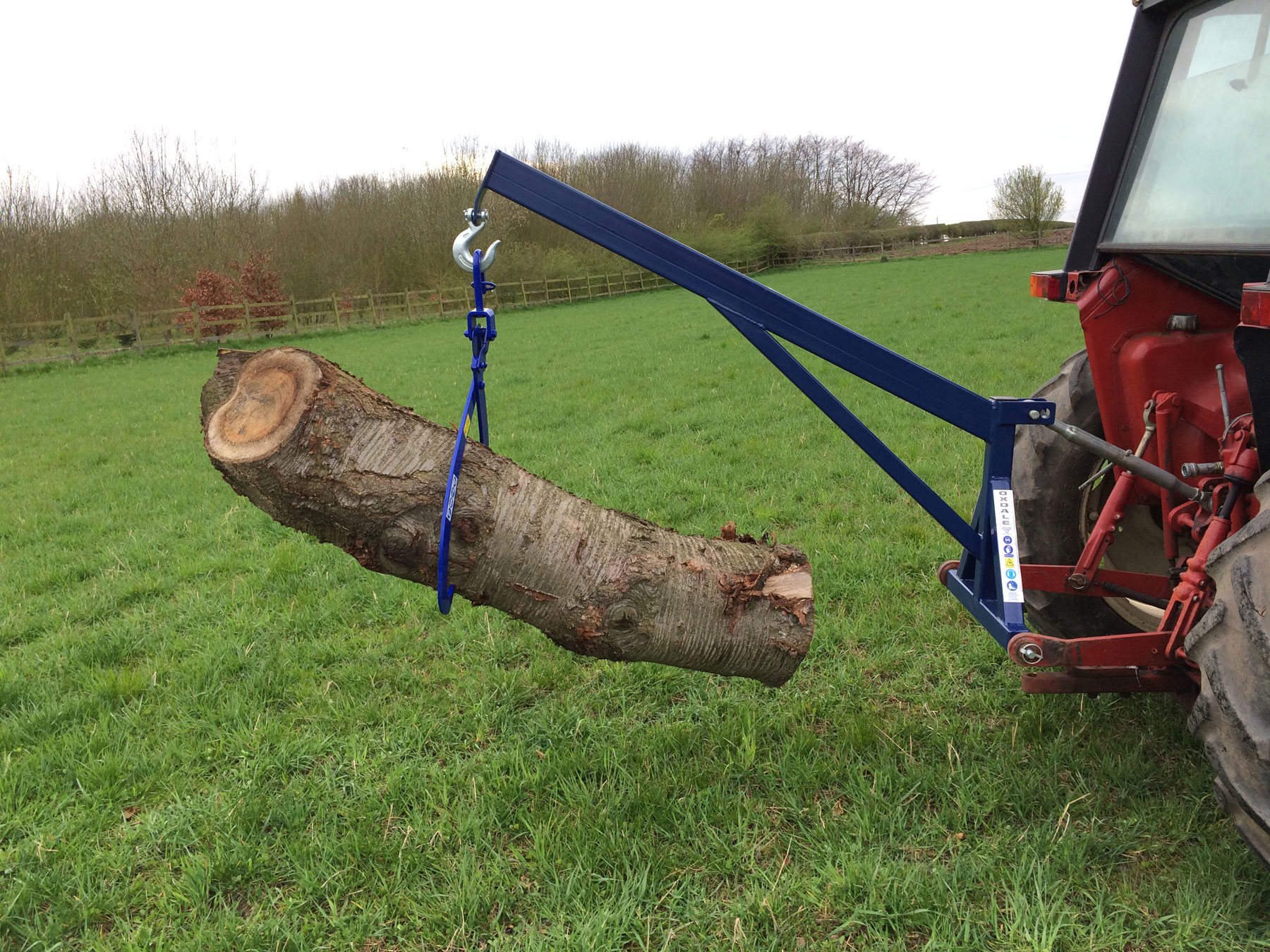 3 Point Tractor Crane : Rear mounted crane cheshire trees
